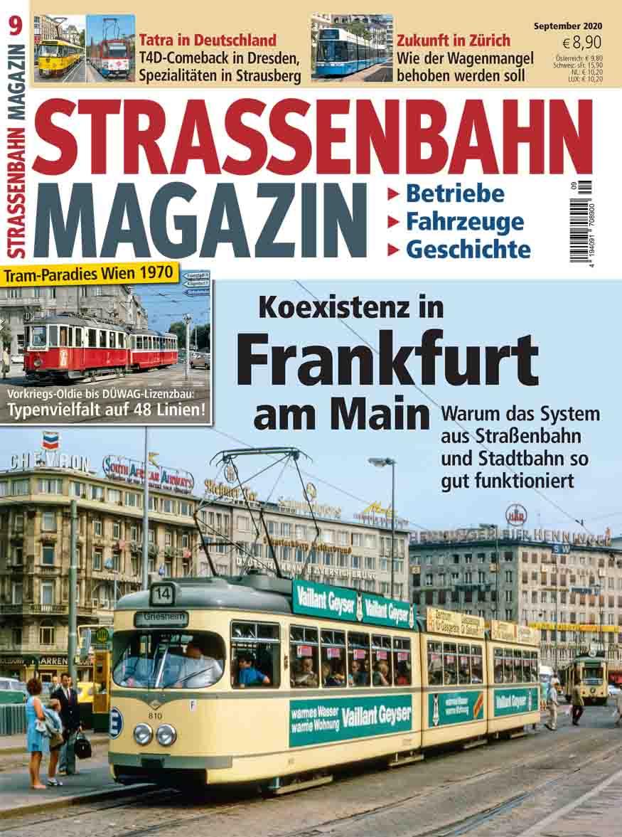 Koexistenz in Frankfurt am Main: Warum das System aus Straßenbahn und Stadtbahn so gut funktioniert