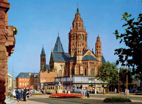 Mainz Mit Pferden Dampf Und Strom Strassenbahn Magazin